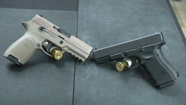 The Sig P320 vs the Glock 19