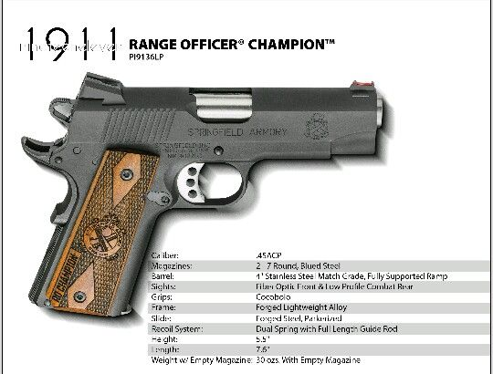 officer champion 1911