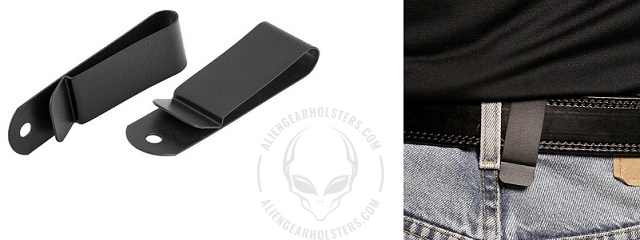 steel clips for holsters