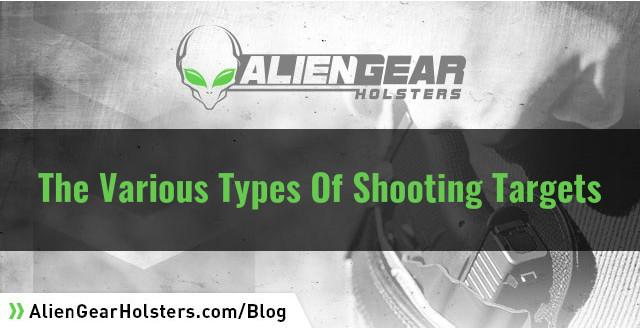 various shooting targets