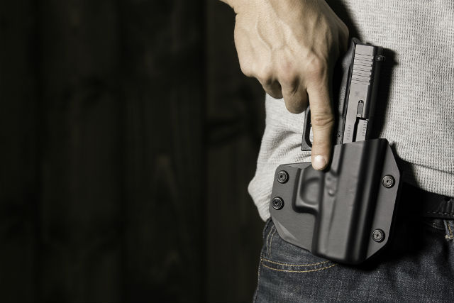 what is an outside the         waistband holster