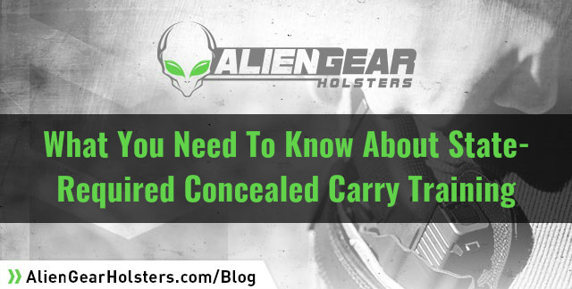 what you will need to satisfy mandatory ccw training